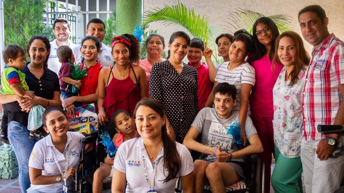 EFAC, realizó Jornada de Atención Integral con niños en condición de discapacidad