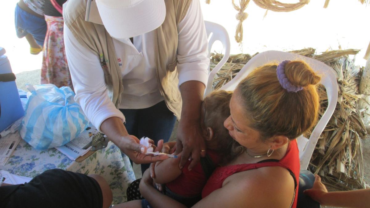 Distrito coordina jornada de Intervención comunitaria en salud a comunidad Kogui