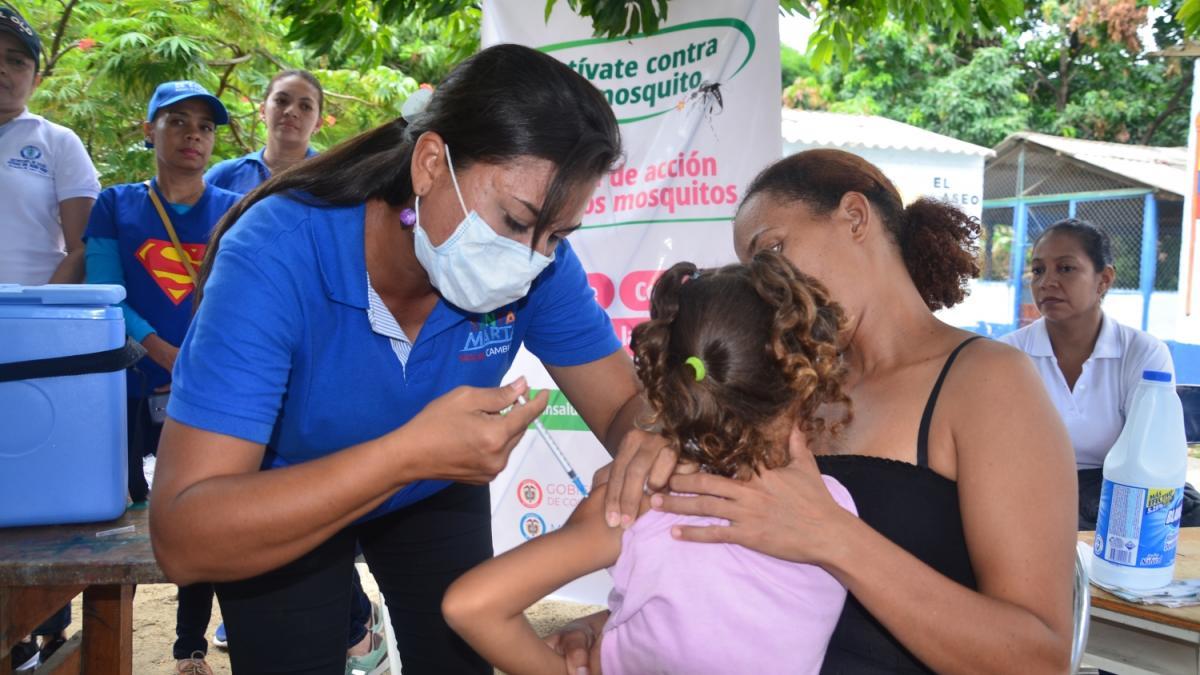 En Santa Marta, 1757 dosis se aplicaron en la IV Jornada Nacional de Vacunación