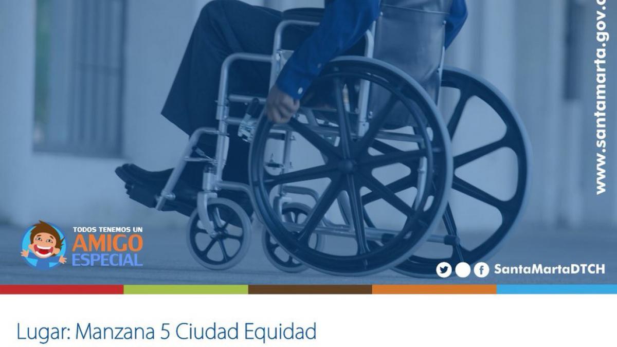 Jornada de Registro a Población en condición Discapacidad