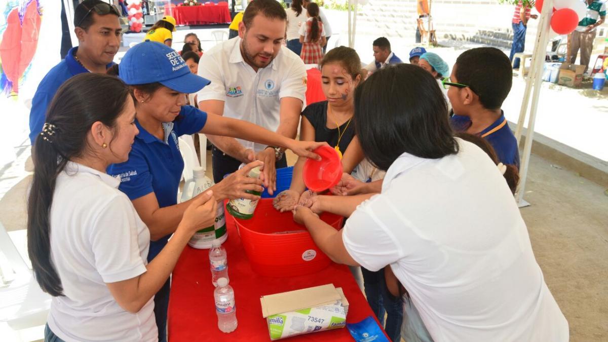 Santa Marta hacia el  Distrito Más Saludable