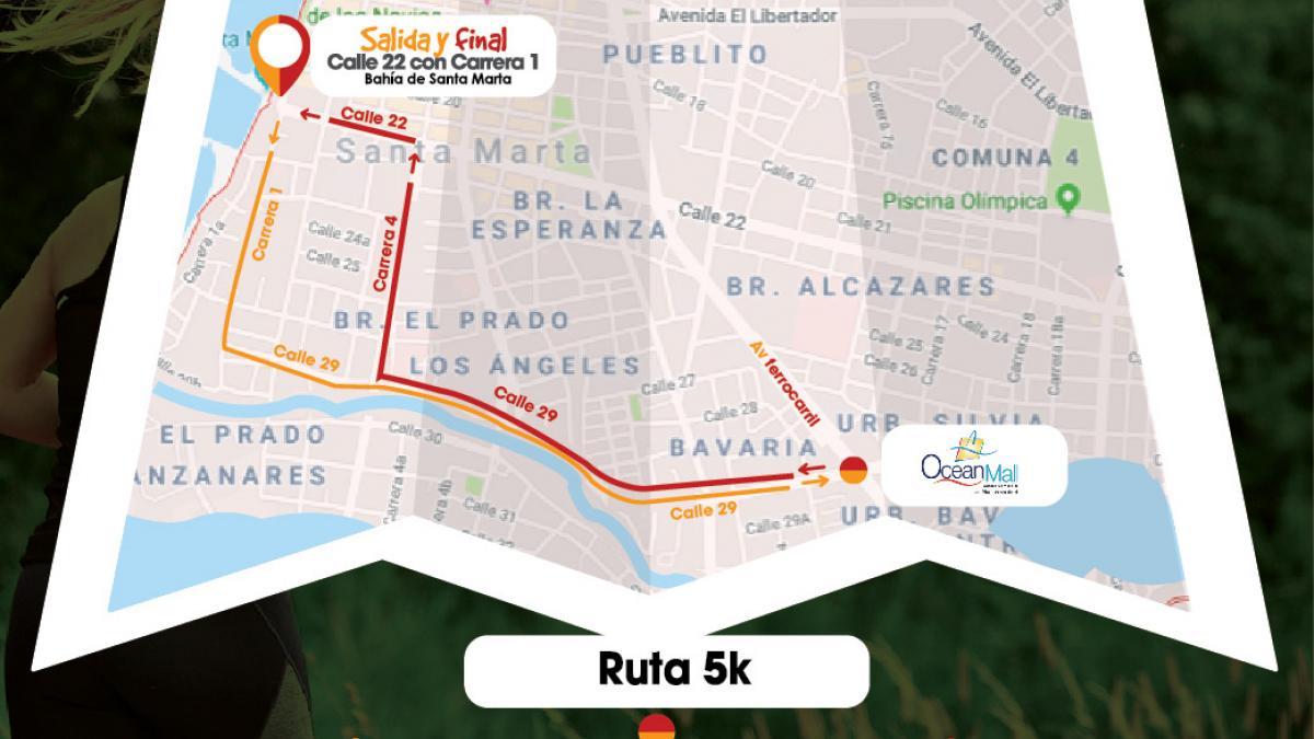 Ordenan cierre de calles en el Centro para la Carrera 5K de este domingo