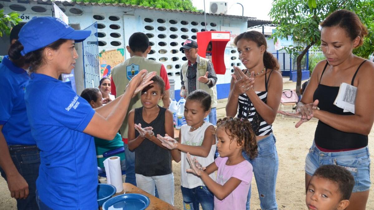 Distrito continúa desplegando acciones  por niños y niñas más sanos