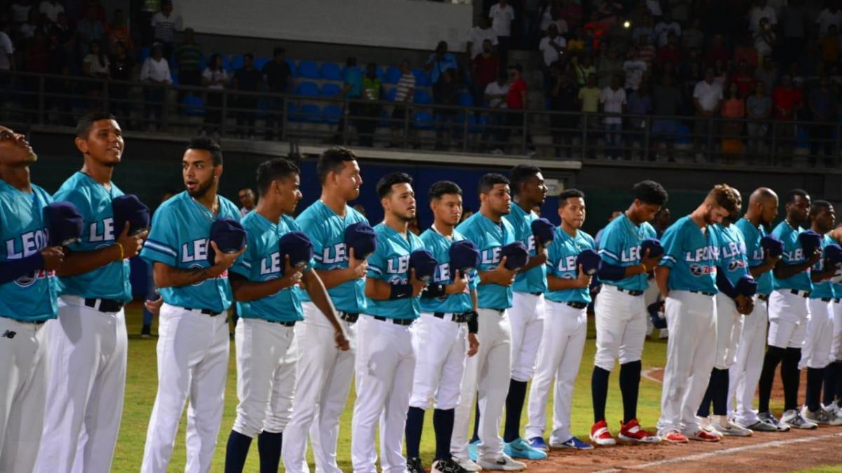 Con el primer juego de Leones, regresó el Béisbol profesional a Santa Marta