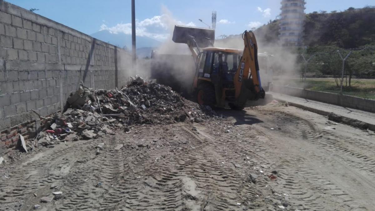 Essmar retiró 422 toneladas de escombros en El Rodadero