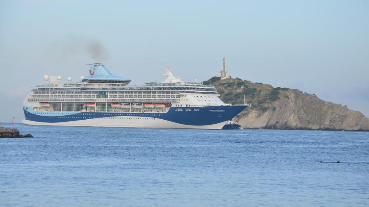 1.762 británicos visitan a la ciudad en el crucero Marella Discovery II