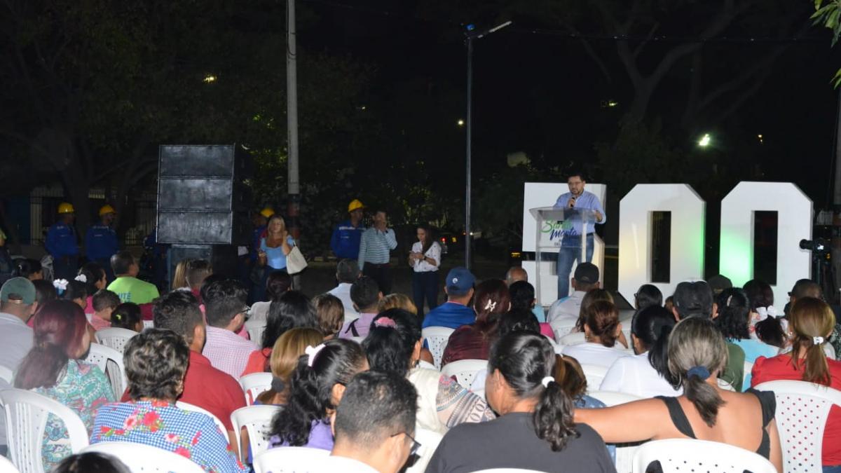 Nuevas luminarias LED en La Ciudadela 29 de Julio benefician a cinco mil samarios
