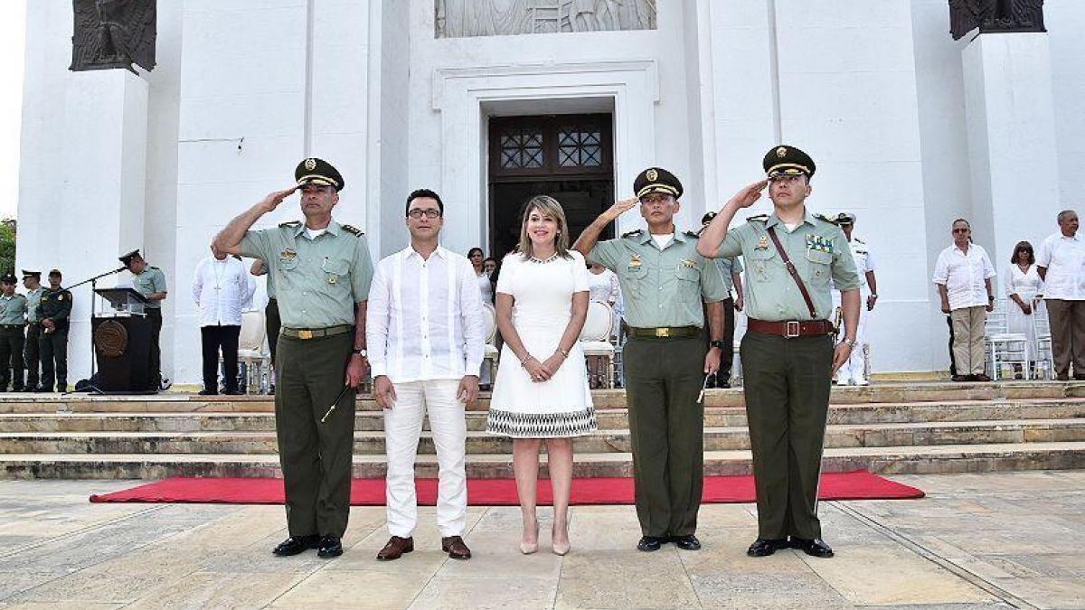 Alcaldesa trabajará con el nuevo Cte de la Mesan en garantizar la seguridad, tranquilidad y convivencia de los samarios