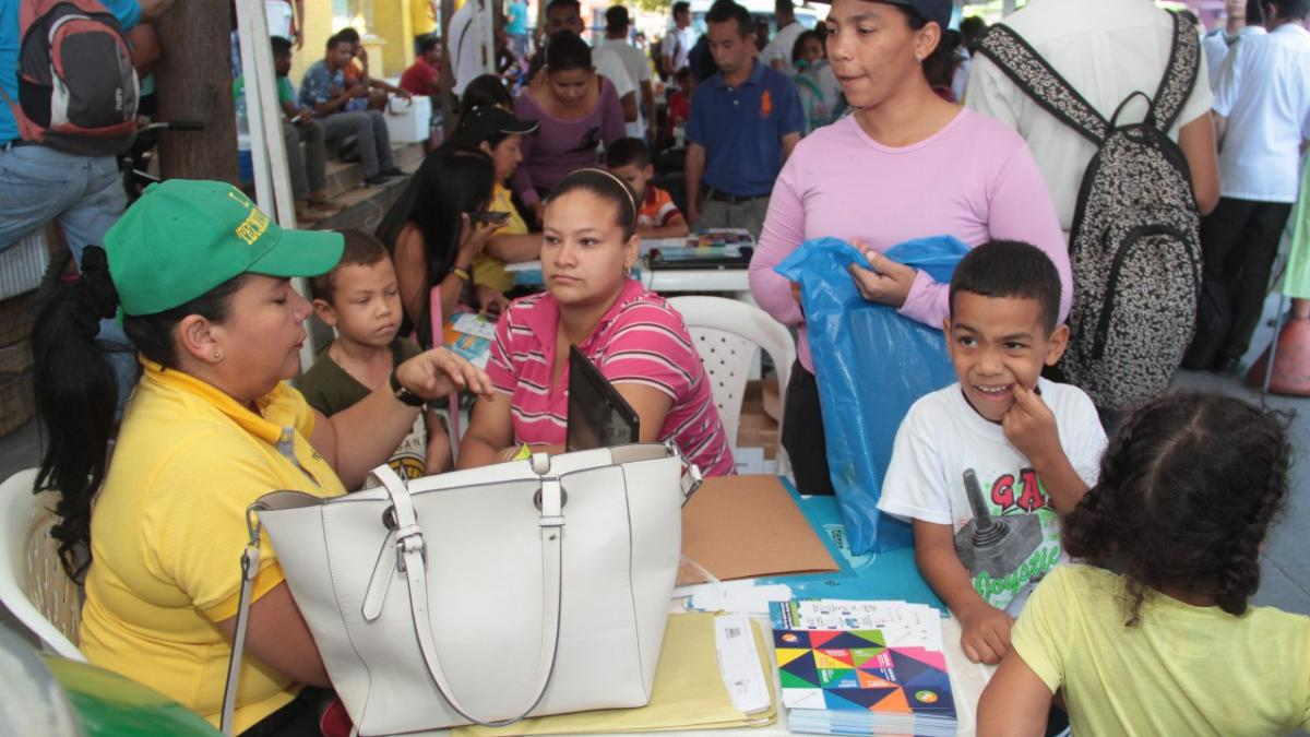 173 estudiantes se vincularon al sistema educativo durante jornada de Matriculatón