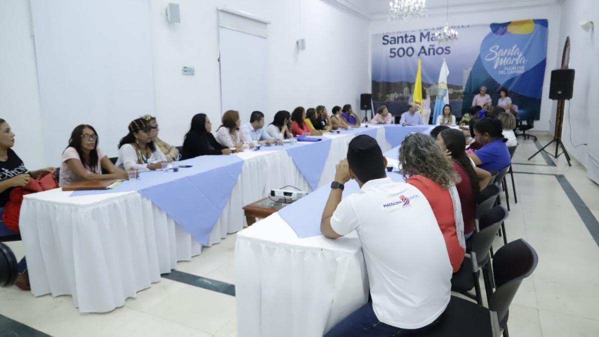Distrito realizó Mesa de Participación a Víctimas