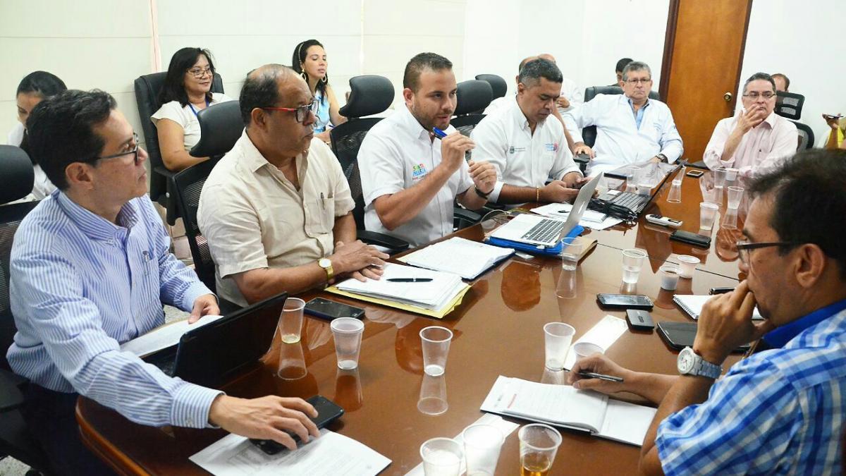 Realizada Mesa de trabajo con Minsalud para revisar congestión en el servicio de  urgencias del Troconis