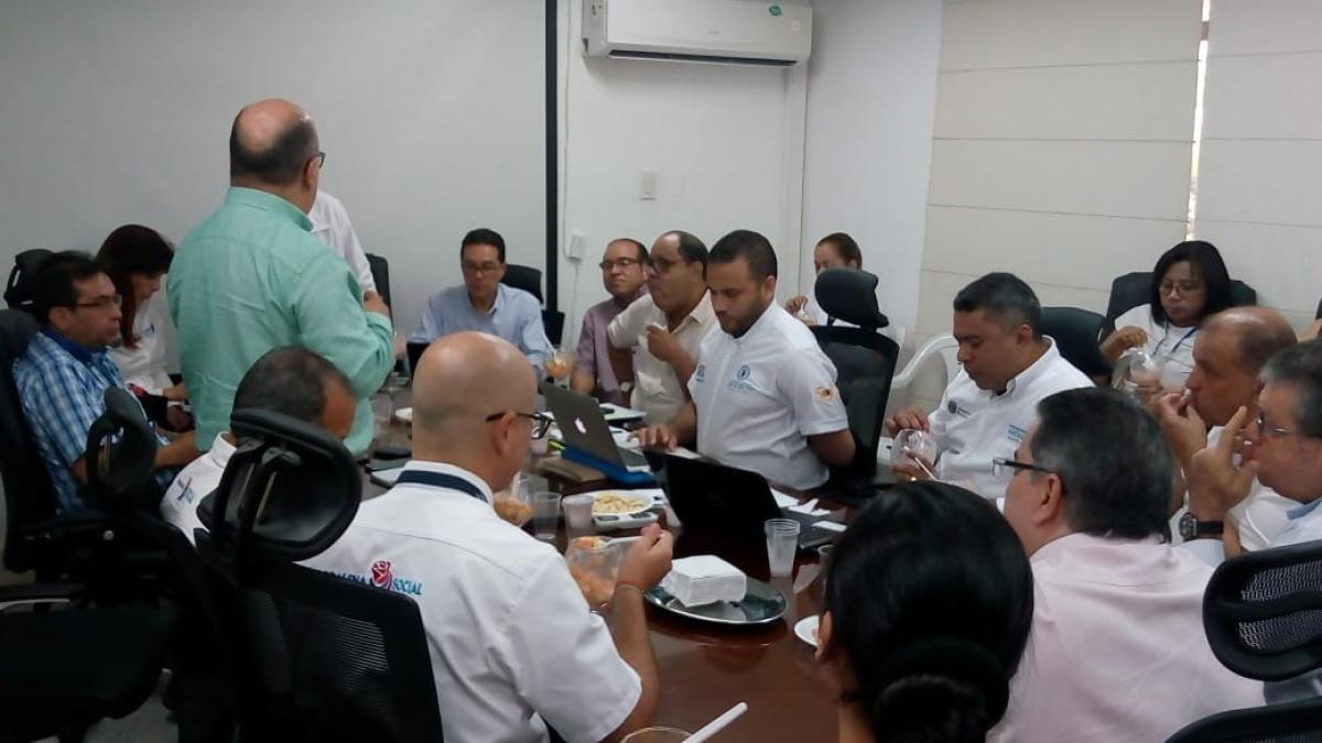 ESE Distrital participó en mesa de trabajo del Ministerio de Salud y Protección Social