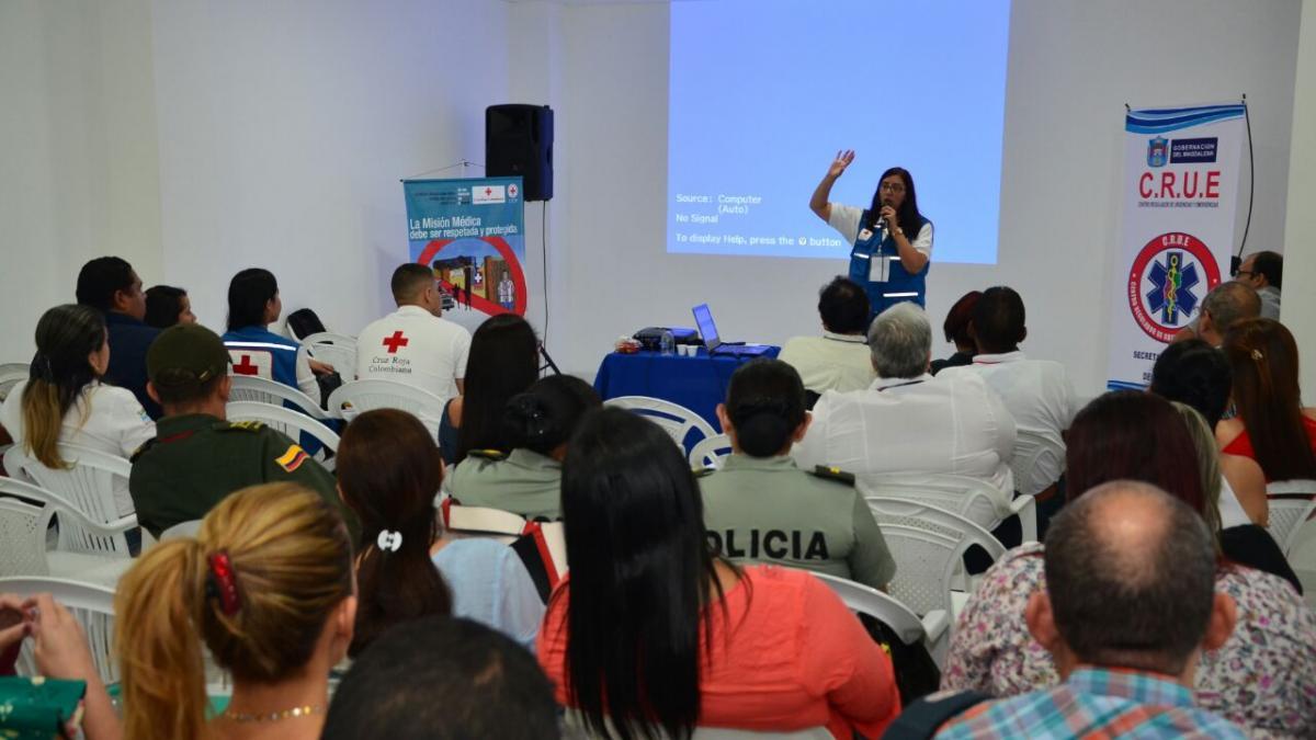 Ministerio de Salud lidera mesa de Misión Médica en el Distrito