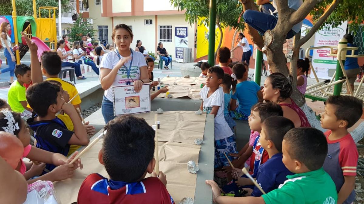 Educar en vivienda y entornos saludables, clave contra el dengue