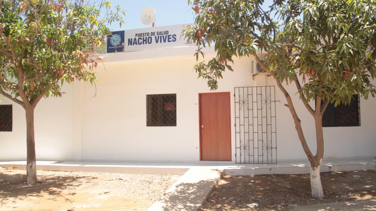 Distrito entrega obras de adecuación de los puestos de salud de Nacho Vives y Juan XXIII