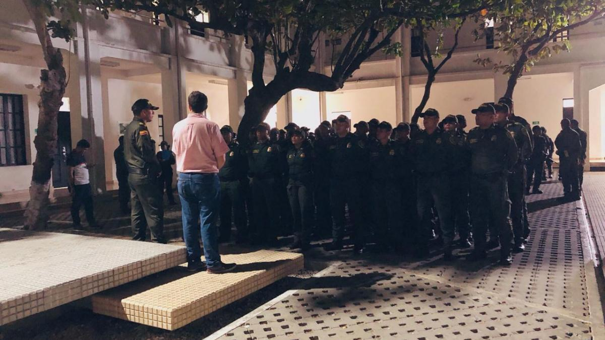 30 nuevos policías llegan a Santa Marta para reforzar la seguridad comunitaria