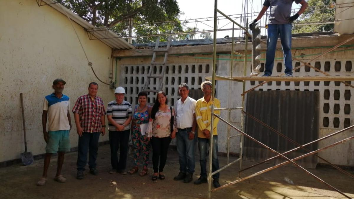 Distrito le cumple a zona rural con obras sociales, de infraestructura  y en la lucha contra la delincuencia