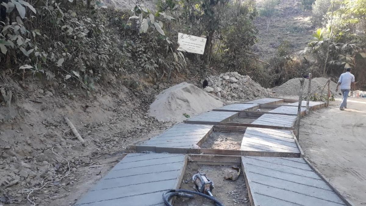 La zona rural mejora sus vías con las '100 Obras para el Buen Vivir'