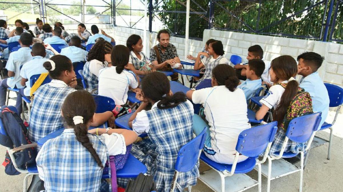 Estudiantes de la IED Once de Noviembre reiniciaron actividades académicas