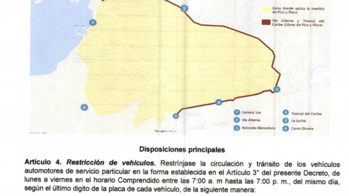 Este 5 de marzo, empezará a regir nuevo 'Pico y Placa' para particulares y taxis