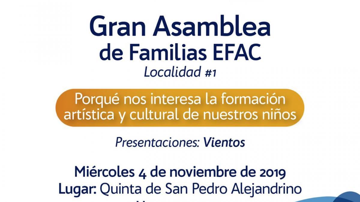 Gran Asamblea de Familias EFAC 2019