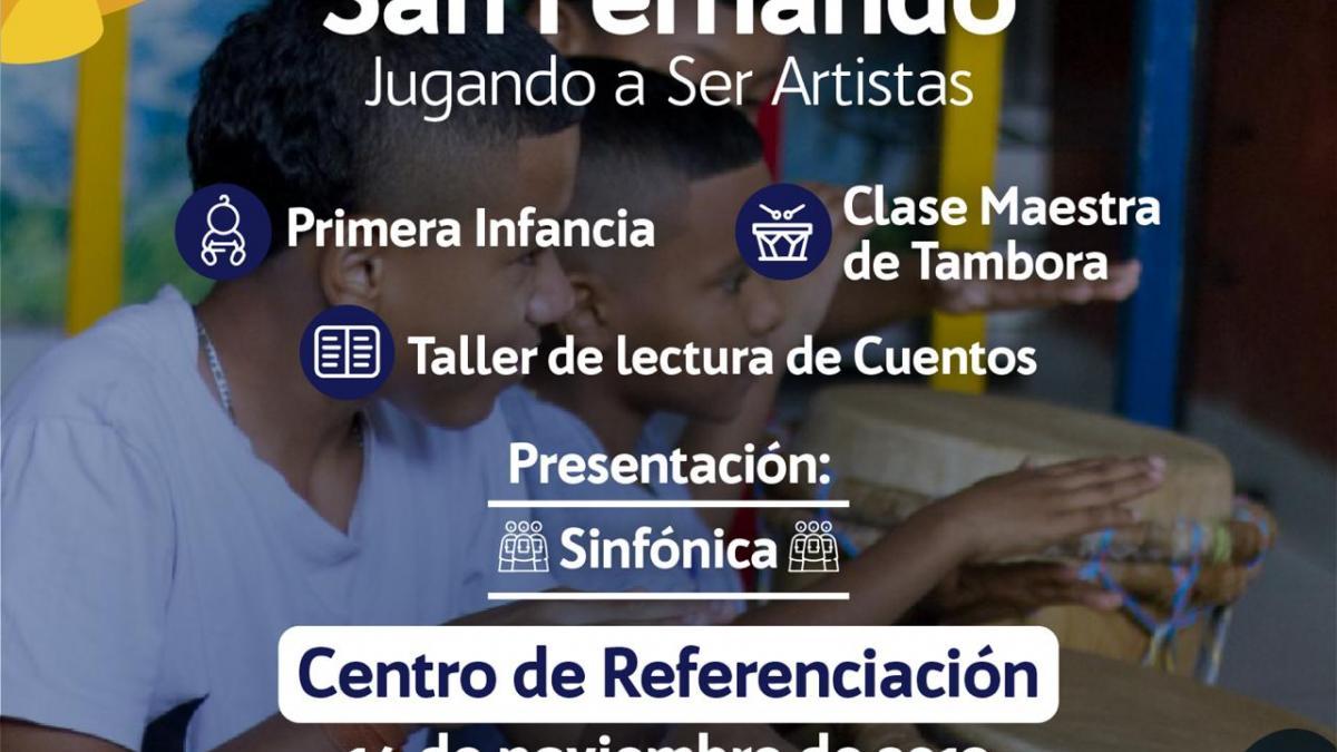 Galerías Callejeras llegan al barrio San Fernando