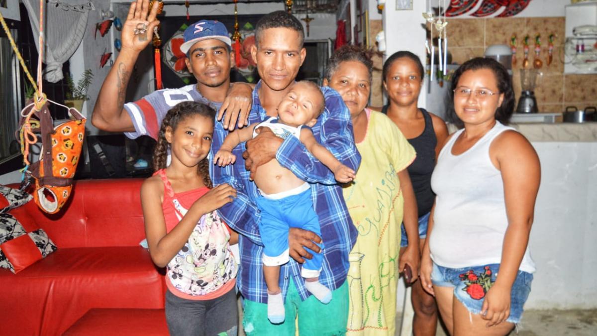 Habitante de calle pasará diciembre en familia gracias a la Alcaldía del Cambio