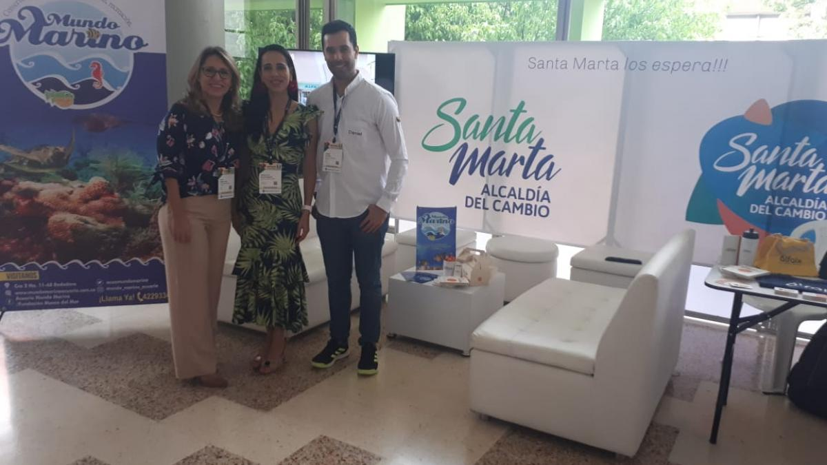 Por primera vez empresarios samarios asisten al Congreso Nacional de Comerciantes en Neiva