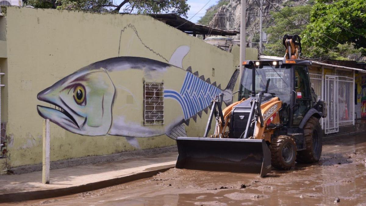 Essmar retiró 1.333 toneladas de sedimento en barrios afectados por lluvias
