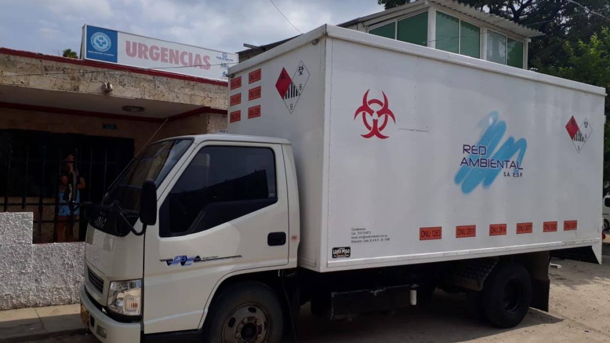 Se normaliza recolección de residuos hospitalarios  en unidades prestadoras de la ESE Distrital