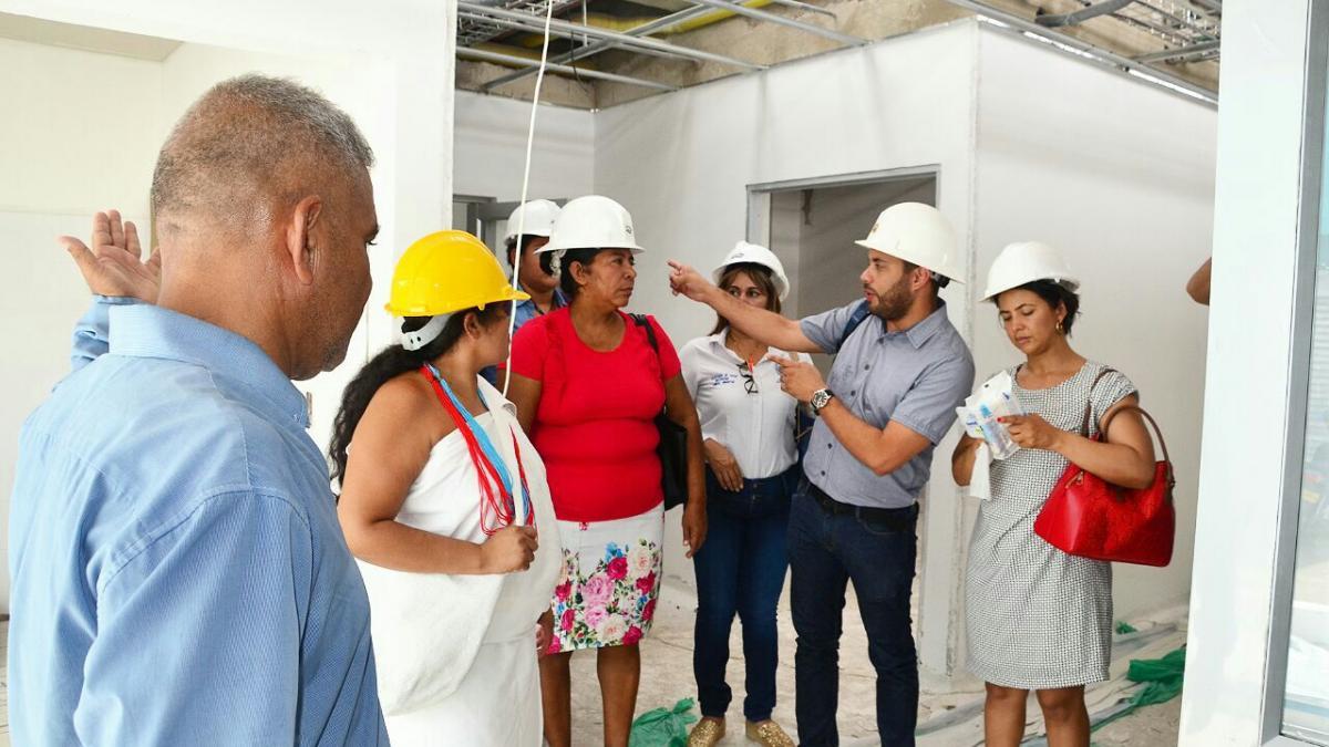 Distrito socializa proyectos de modernización en salud