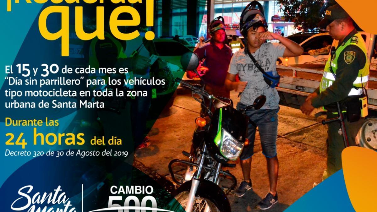 Día sin parrillero este 30 de octubre en Santa Marta