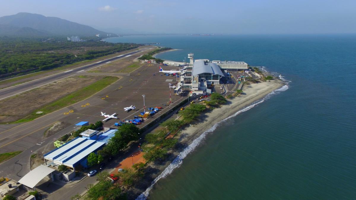 Llega a Santa Marta el primer vuelo procedente de Panamá