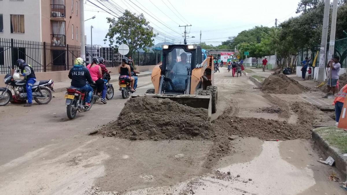 Distrito ha retirado 182 toneladas de sedimento en barrios afectados por lluvias