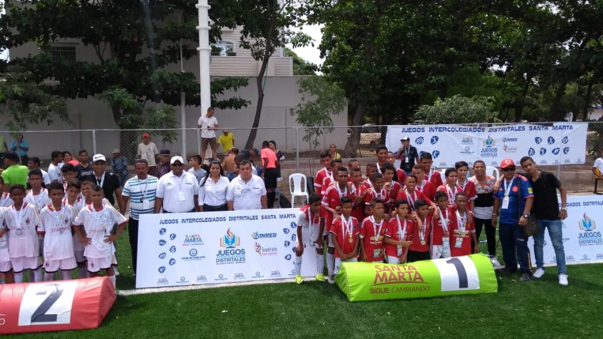 Con broche de oro se cerró primera fase de los Juegos Intercolegiados