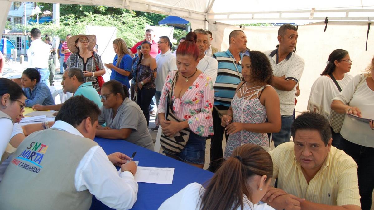 600 comerciantes asistieron a la Rueda de Formalización