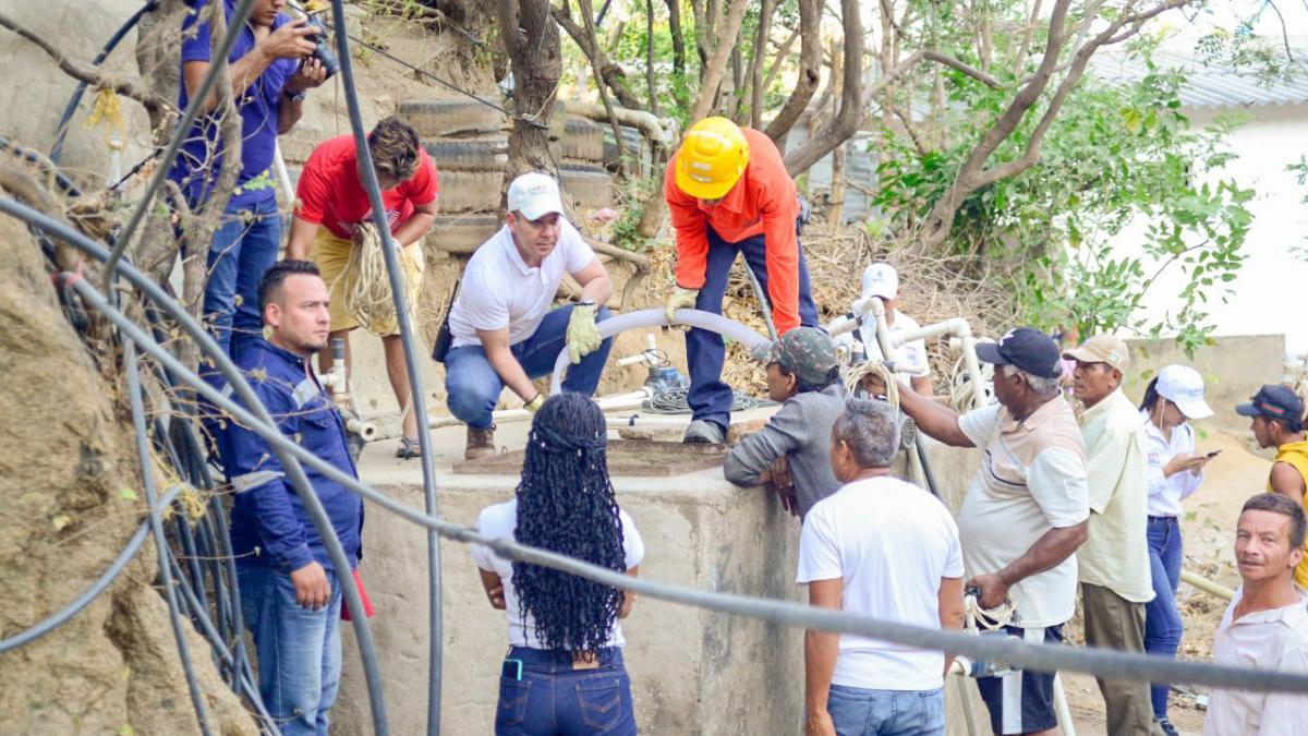'La Ruta del Agua' llegó a María Cecilia y San Fernando