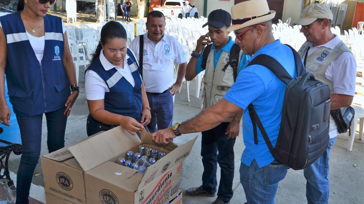 Distrito verifica cumplimiento de planes de emergencias en eventos del carnaval