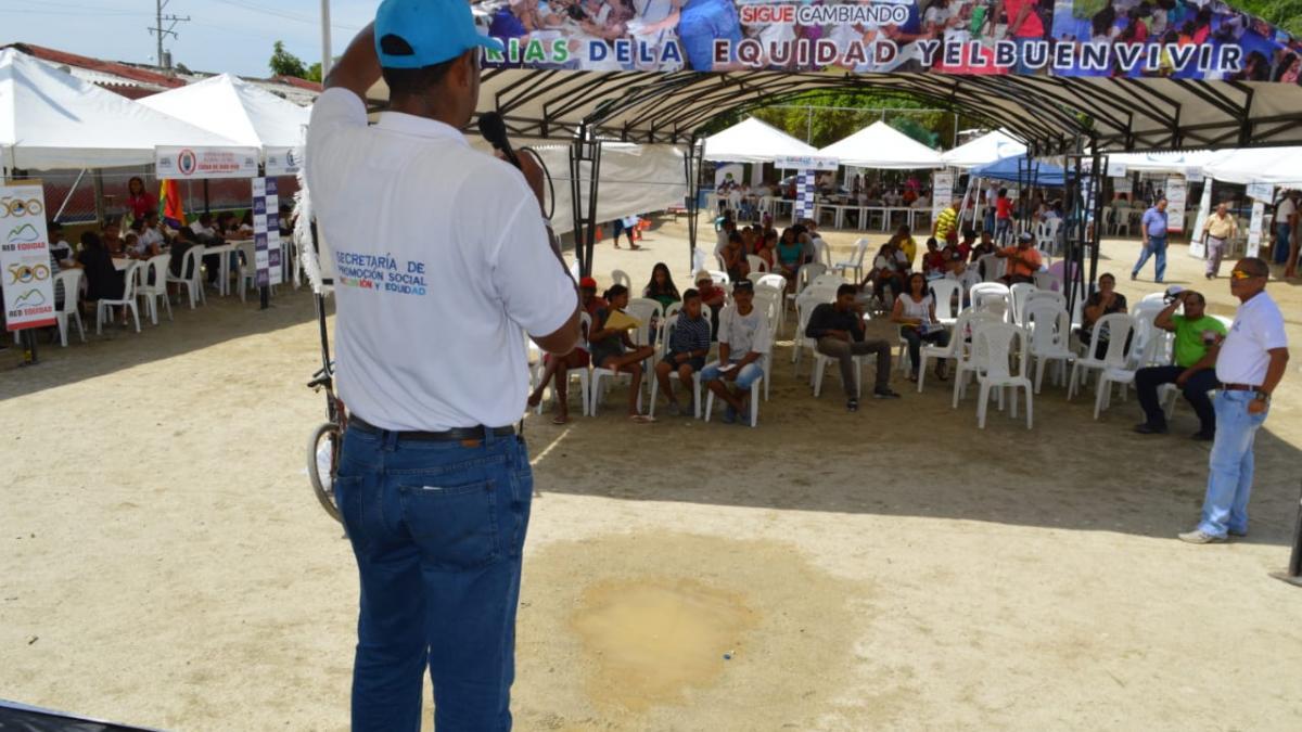 Yosaris, un especial  ejemplo de inclusión en las Ferias de la equidad