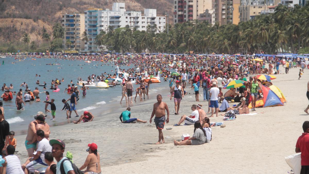 Así avanza la temporada turística de Semana Santa en Santa Marta
