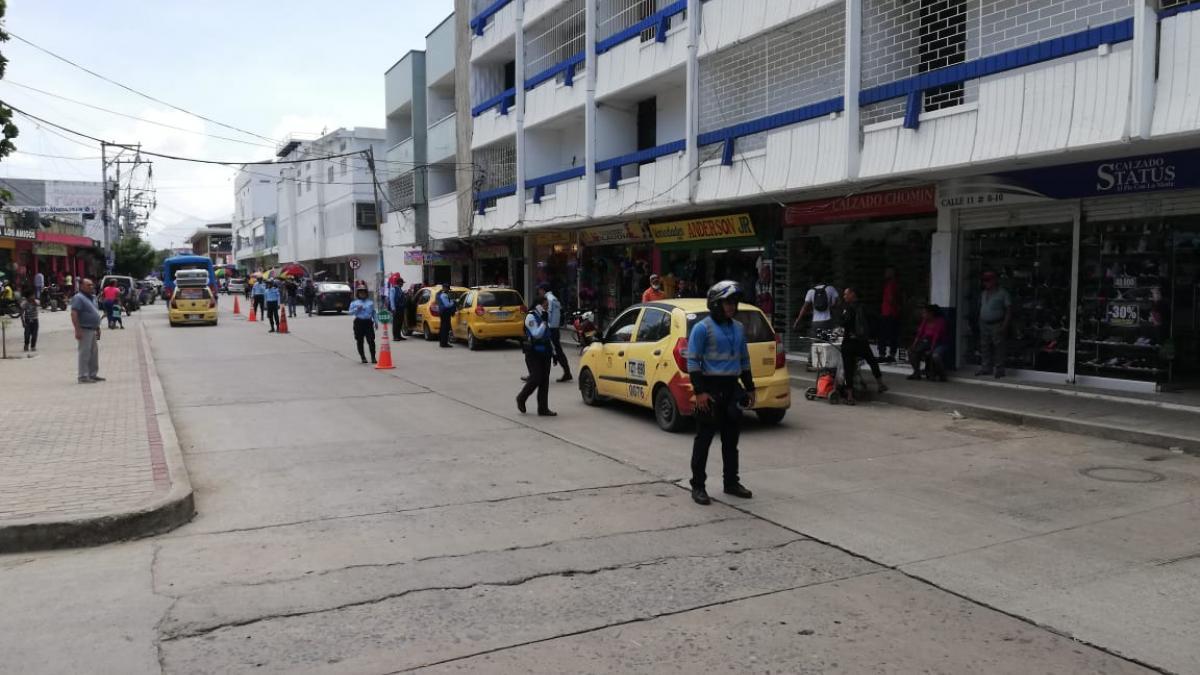 Secretaría de Movilidad ejerce  control al transporte público de Santa Marta