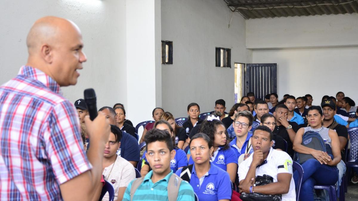 Distrito les dio bienvenida a 1340 estudiantes de la Unión Politécnica Distrital