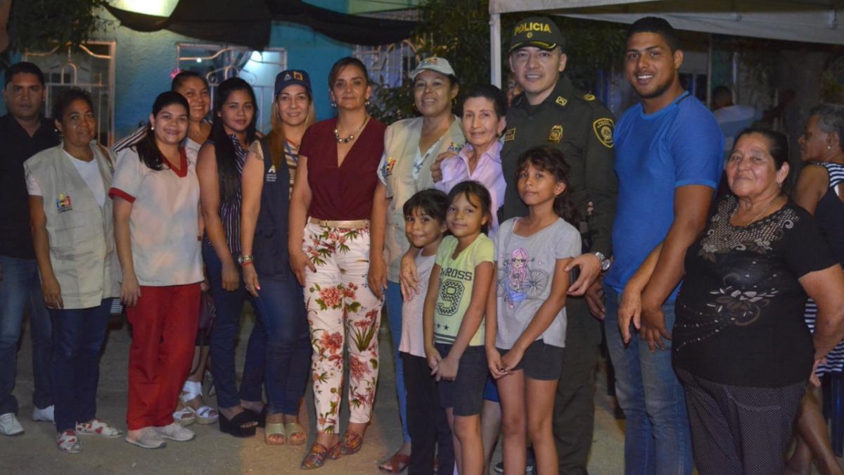 """Más de mil familias de Chimila 2 fueron beneficiadas con el programa """"Gobierno Seguro Imparable"""""""