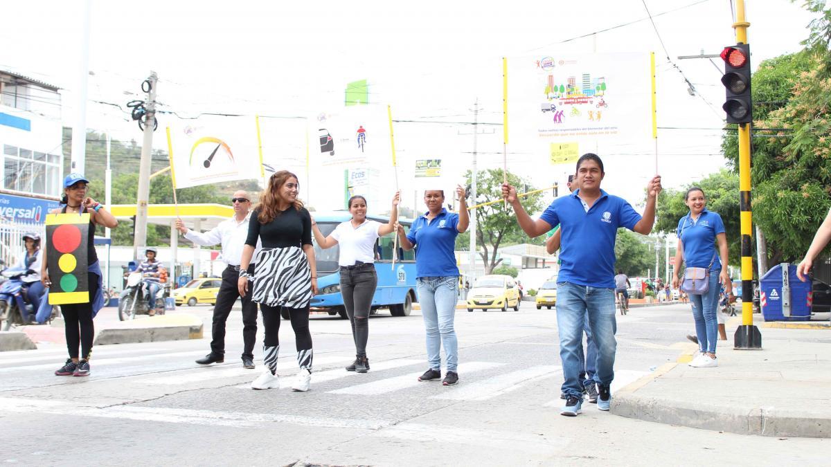 Distrito conmemora Semana de la Movilidad Saludable, Segura y Sostenible