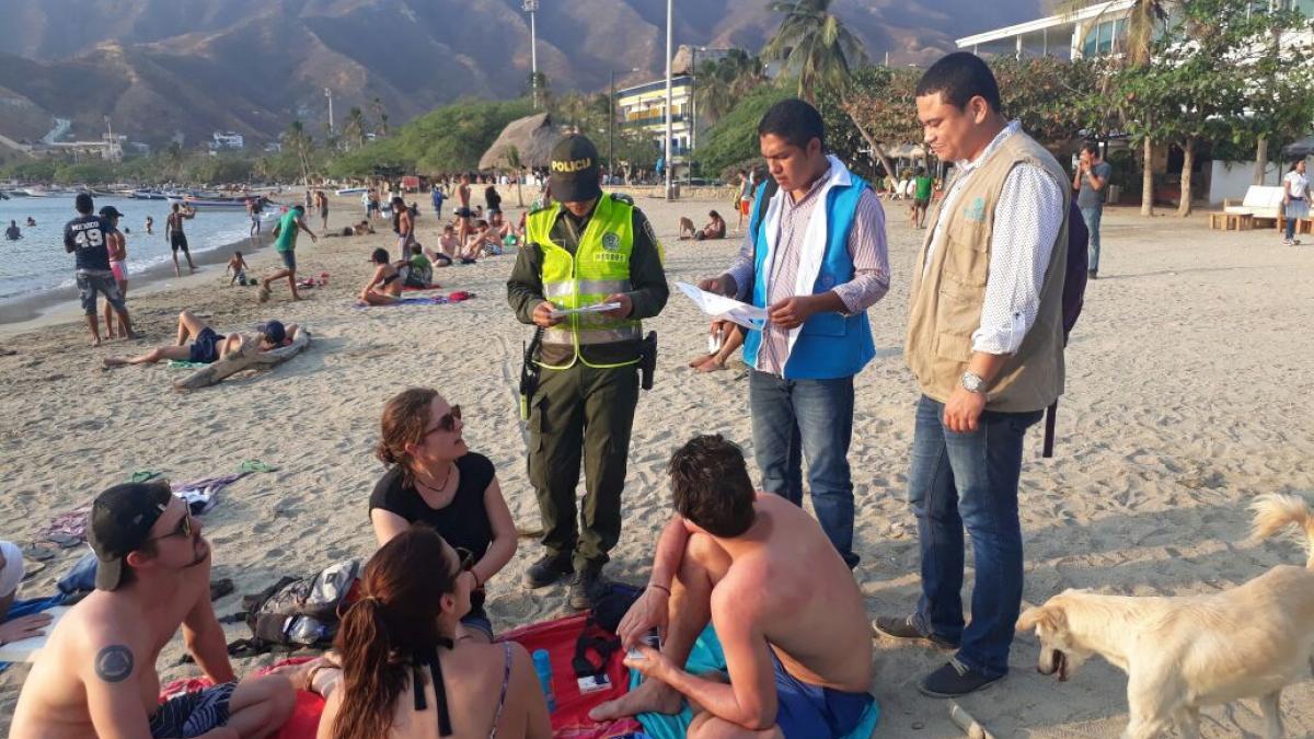 Distrito expuso medidas en salud pública ante presencia de la Fragata Portuguesa