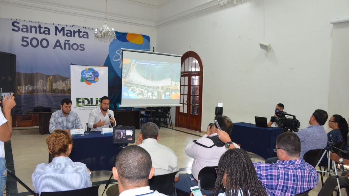 Proyectos del Malecón de la Bahía y El Rodadero han sido socializados a 3 mil ciudadanos