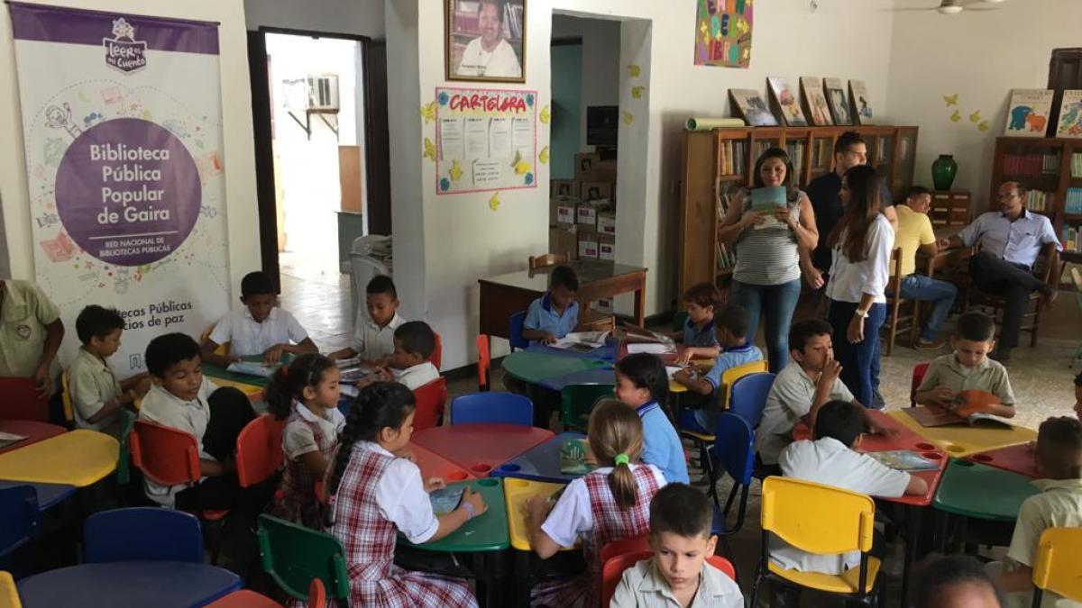 Distrito aumenta en los niños el interés por la lectura