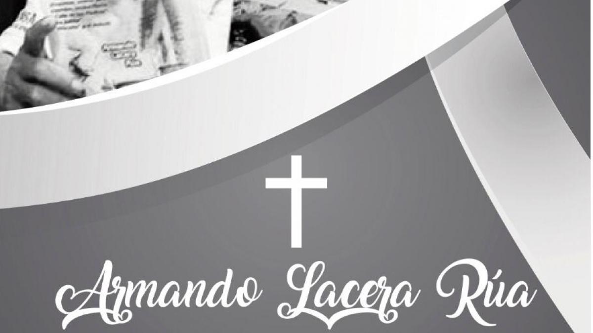 Alcaldía del Cambio lamenta el sensible fallecimiento del docente, investigador y escritor Armando Lacera Rúa