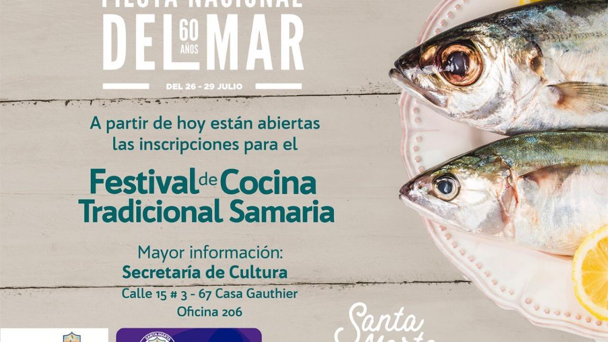 Disponible formulario de inscripción del Festival de Cocina Tradicional Samaria