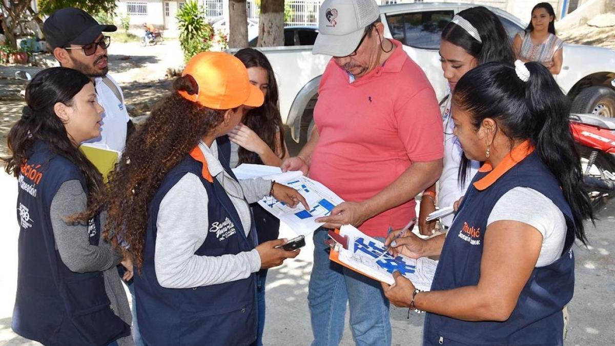 Programa de titulación de predios de la Alcaldía del Cambio se toma el barrio Los Fundadores